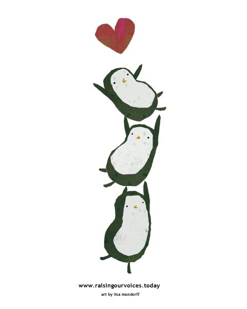raising our voices penguins (1)