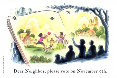 MacDonald DEAR NEIGHBOR PLEASE VOTE