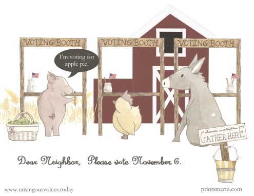 Pig and Chick with websites