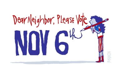 PLEASE NEIGHBOR, VOTE_PENCIL