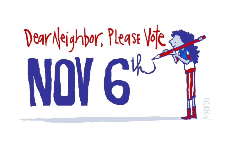 PLEASE NEIGHBOR, VOTE_PENCIL